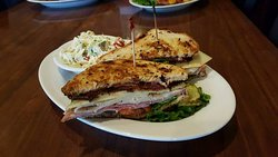 from their FB page features: Cranberry Club Sandwich