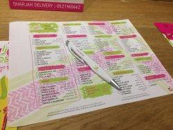 Checklist menu - big fun!
