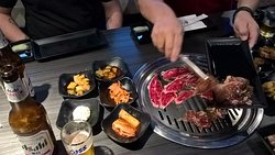 All you can eat Korean BBQ