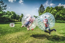 Bubble Football Warszawa by Gmoods