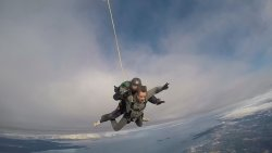 Jumping over Vancouver Island is a view that memories are made of