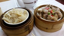 Beef tripe and spare ribs
