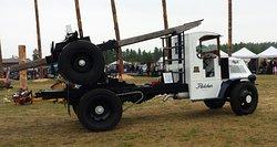 1919 Mac Logging Truck
