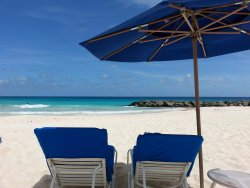 The Beach at Hilton Barbados - perfection!