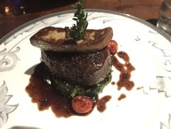 Filet topped with Foie Gras