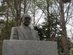 Nitobe Inazo Statue
