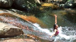Pocao do Abraao Waterfall