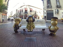 Mafalda Statue