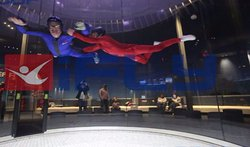 Me on my second trip into the air tunnel. Its really pretty easy and the instructors are great.