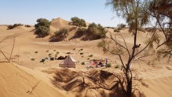 Camping et randonnée