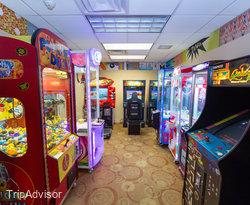 Arcade at the Holiday Inn Resort Galveston - On the Beach