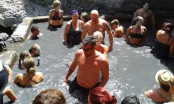 Mud Baths/Sulphur Springs @ world's only drive-in volcano in Soufriere. Included in Southbound t