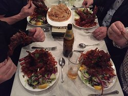 They are enjoying our Jambo tender lamchop