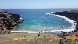 South Point (Ka Lae) dan Pantai Green Sand