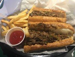 Philly Cheese steak sandwich.....wow!
