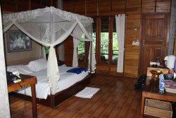 Skønt ophold på et fantastisk  beliggende sted - ro , hygge og afslapning