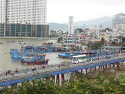 Xom Bong Bridge