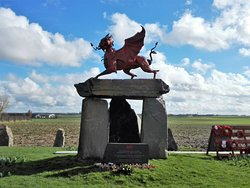 Welsh Memorial in Flanders Campaign