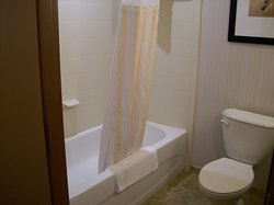 Room 406, Clean Bathroom and wonderful Shower, with good water pressure and hot water.