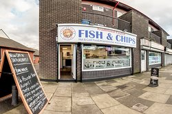 Traditional English Fish & Chips