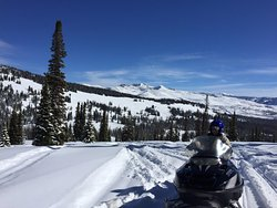High Mountain Snowmobile Tours