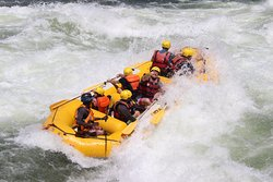 Rafting on the Nile