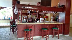marien bar. Martina Mota was awesome