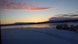 Dawn, at 8 AM.