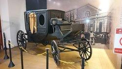 Réplica de carruagem francesa do século XIX.