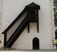 Belfry in Strazky