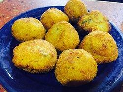 Agradable y rica comida tradicional