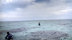 Beleza da agua impressiona.