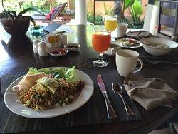 Bali fried noodle breakfast