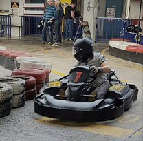 Indoor Kart-Bahn