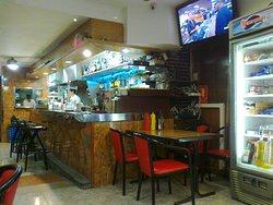 Cafe Colmar Bar area