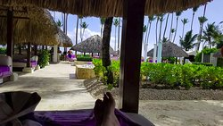 View from reserved cabana.
