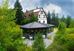 ‪Pension Restaurant im Gruenen Tal‬