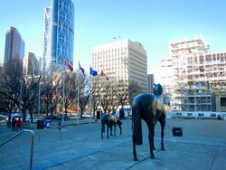 Family of Horses statue