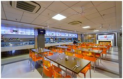 Food Court At Hotel Shri Ram Empire
