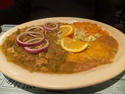 Pork in Green Chili Sauce