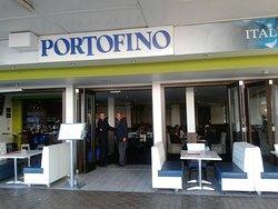 Portofino's inviting frontage
