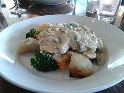 Husband's meal - veal scallopini