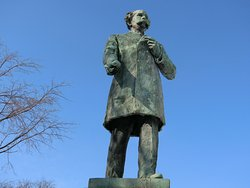 Horace Capron Statue