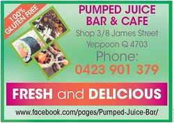 Pumped Juice Bar & Cafe