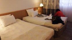 ワルシャワ中央駅近く、便利で綺麗なホテル