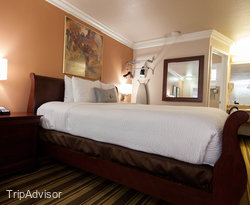 The King Suite at the Americas Best Value Inn & Suites - San Francisco Airport