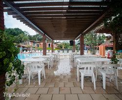 Pool Bar at the Hosteria Guaracu