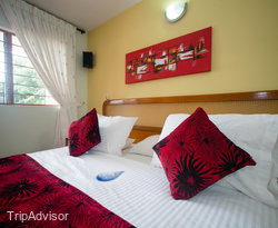 The Standard Double Room at the Hosteria Guaracu
