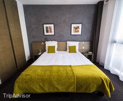 The Superior Double Room at the BEST WESTERN Hotel de la Cite