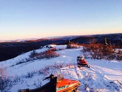 Fairbanks Snowmobile Tours, Rides and Trips